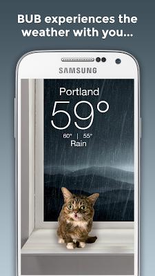 Weather BUB - screenshot