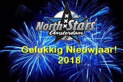 Nieuwjaarswens 2018 Amsterdam North Stars
