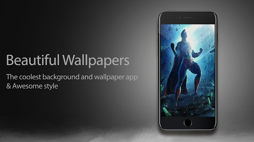 Superheroes Wallpapers 4K | HD Backgrounds Pro 1.0.1 screenshots 4