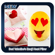 Best Valentine's Emoji Heart Pillow icon