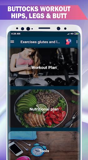 Buttocks Workout - Hips, Legs & Butt Workout Pro screenshot 1