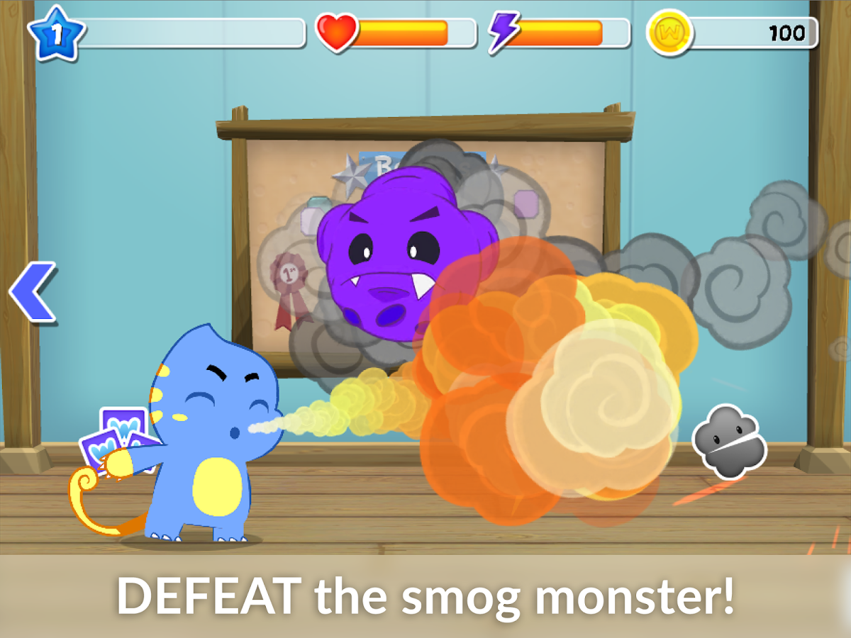 Wizdy Pets - Asthma Game- screenshot