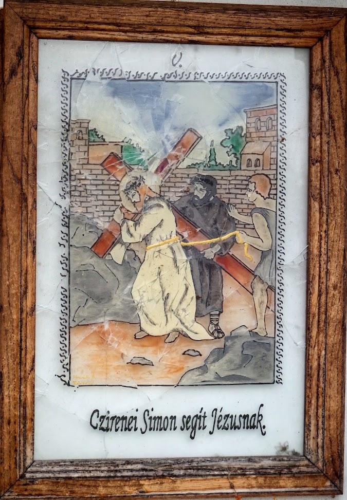 Szentgotthárd-Rábakethelyi Mindenszentek rk. templom és keresztút a temetőben