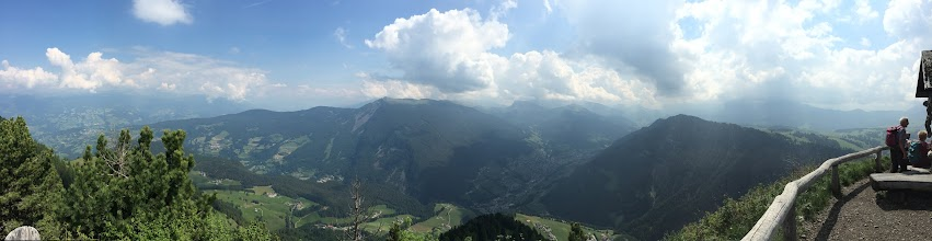Photo: The panorama over Castelrotto