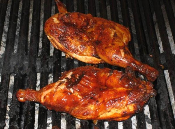 Prepare chicken by washing and setting aside.