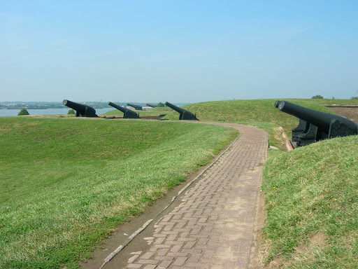 Fort McHenry, in Baltimore, is a coastal star-shaped fort best known for its role in the War of 1812.