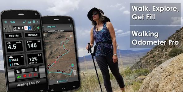 Walking Odometer Pro - GPS Pedometer & Fitness 1.35