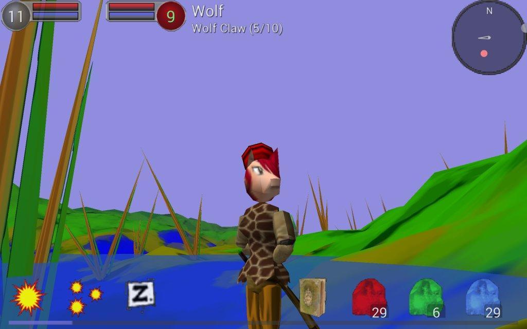 Rune Runner- screenshot