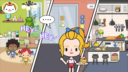 Code Triche Miga Town:Appartement mod apk screenshots 4