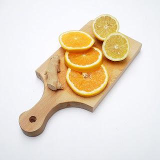 Citrus Ginger Tea.