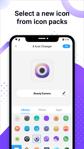 X Icon Changer - Customize App Icon & Shortcut modavailable screenshots 2