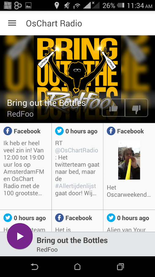 OsChart Radio- screenshot