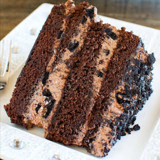 Chocolate Dirt Cake Layer Cake.
