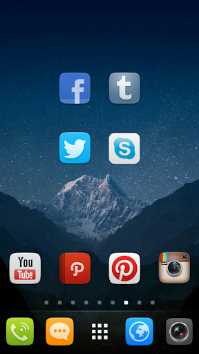 GO Launcher EX UI5.0 theme screenshot 3