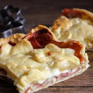 Italian Savory Rustic Pie.