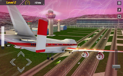Real Plane Flight Simulator: Fly 3D Game apkpoly screenshots 9