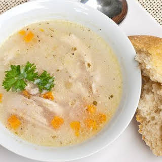 Light and Chunky Chicken Soup.