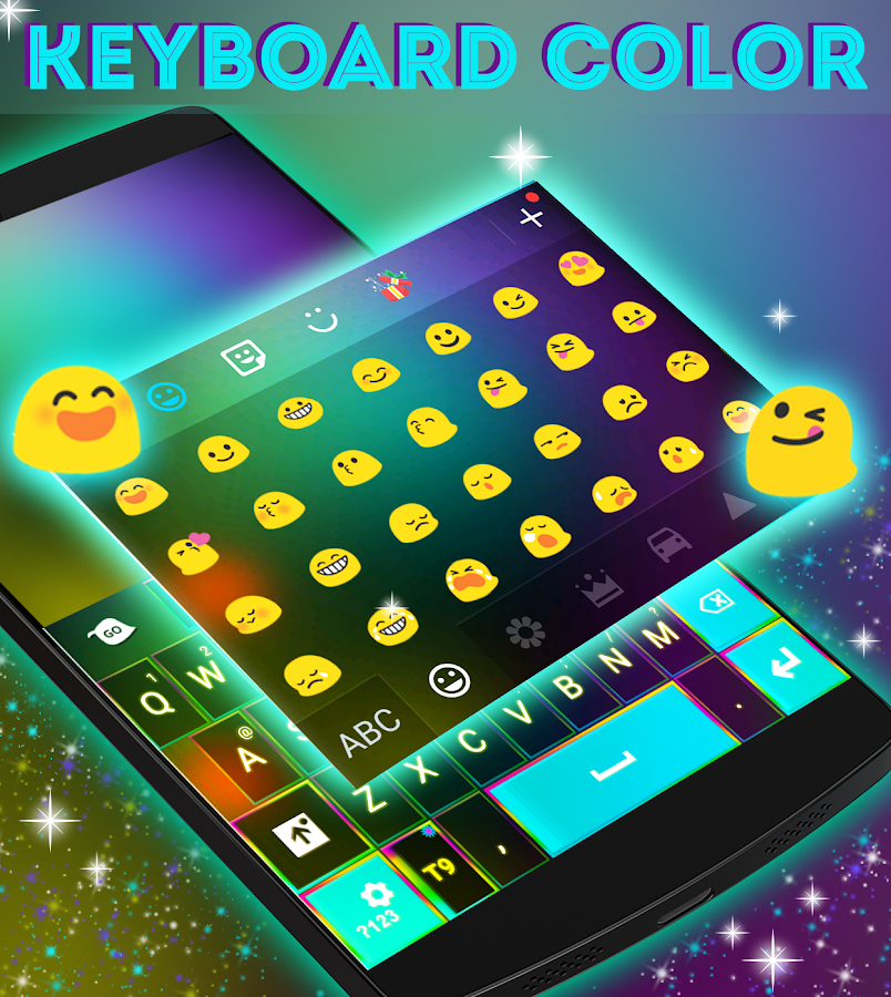how to change keyboard color on android phone