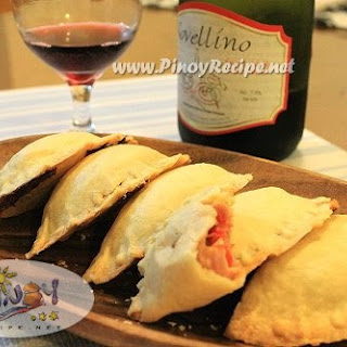 Ham and Cheese Empanadas.