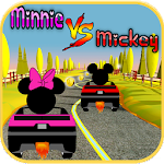 Race Mickey Against Minnie