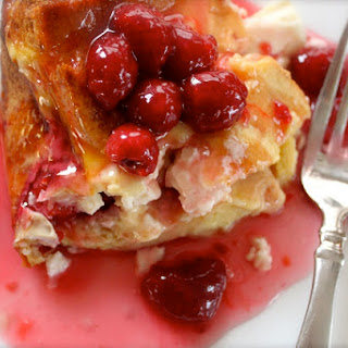 Raspberry & Italian Mascarpone Stuffed French Toast!