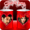 Coffee Cup Dual Photo Frames icon