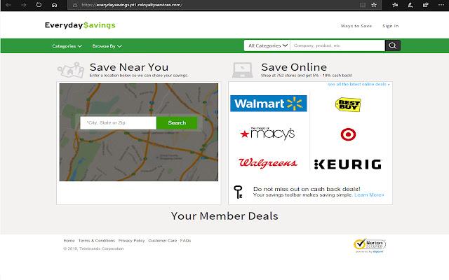 Everyday Savings SavingsKey