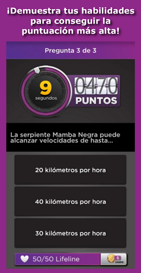 BBC IQ Spanish TV Trivia- screenshot