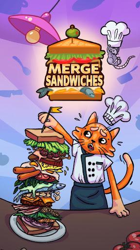 Merge Sandwich: Happy Club Sandwich Restaurant 1.0.94 screenshots 5