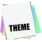 Sticky Notes Theme School  Icon