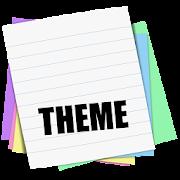 Sticky Notes Theme School  Icon