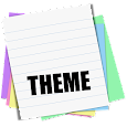 Sticky Notes Theme School