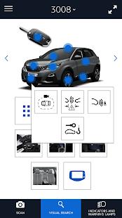 Scan MyPeugeot App - náhled