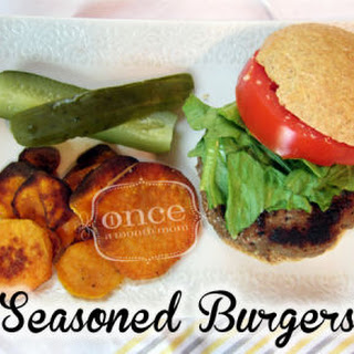 Get Ready for Summer Seasoned Burgers