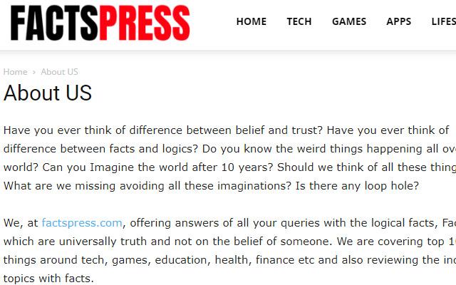 FactsPress.com
