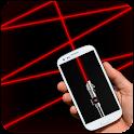 Laser Flash light (Prank) icon