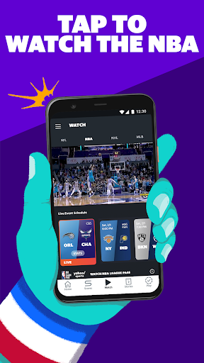 Yahoo Sports: Watch games & get live sports scores screenshots 1