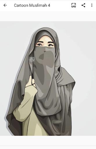 Cartoon Muslimah : Wallpaper and DP screenshot 7