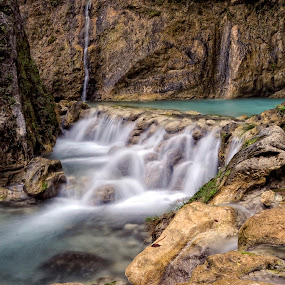 Inambakan Falls by Tyrone de Asis - Landscapes Waterscapes ( inambakan falls, falls, cebu, tary, philippines )