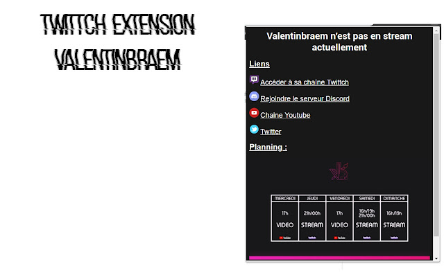 Extension Twittch Valentinbraem