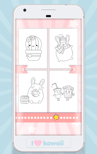 Kawaii Coloring Book  captures d'écran 2