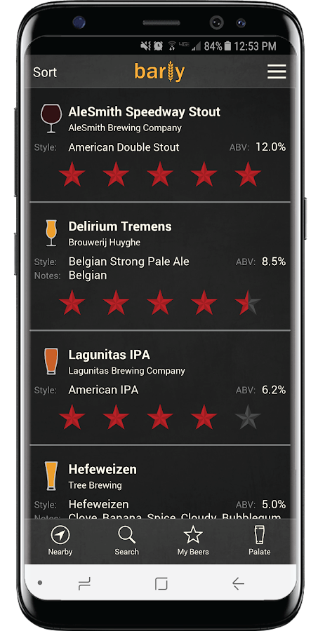 Barly - Beer Finder, Ratings & Tap Lists Near Me- screenshot