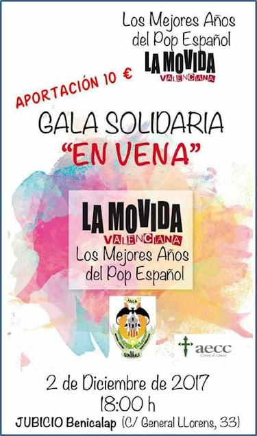 """Concierto Solidario """"EN VENA"""" de General Llorens- Marco Merenciano"""