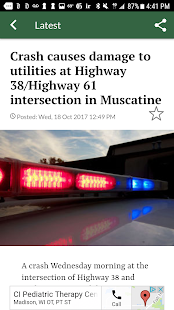 Muscatine Journal- screenshot thumbnail