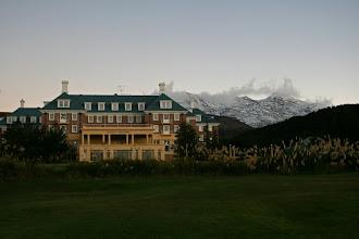 Photo: Bayview Chateau Tongariro mit Hausberg Ruapehu