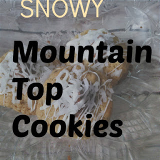 Snowy Mountain Top Cookies