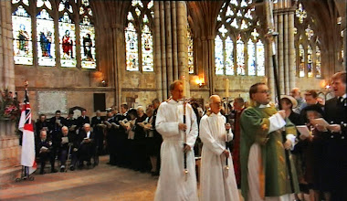 Photo: The service commences