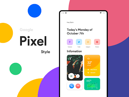 Modern UI for KWGT