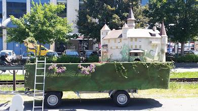 Photo: Der Umzugswagen ist bereit...