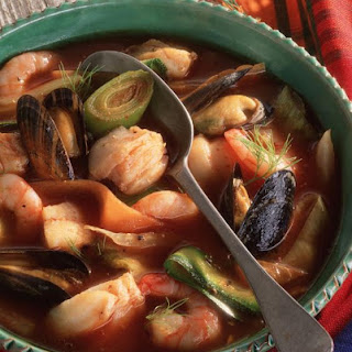 Seafood and Fennel Stew